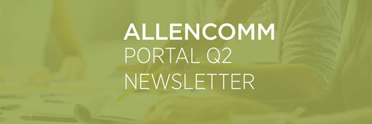 AllenComm Portal Newsletter