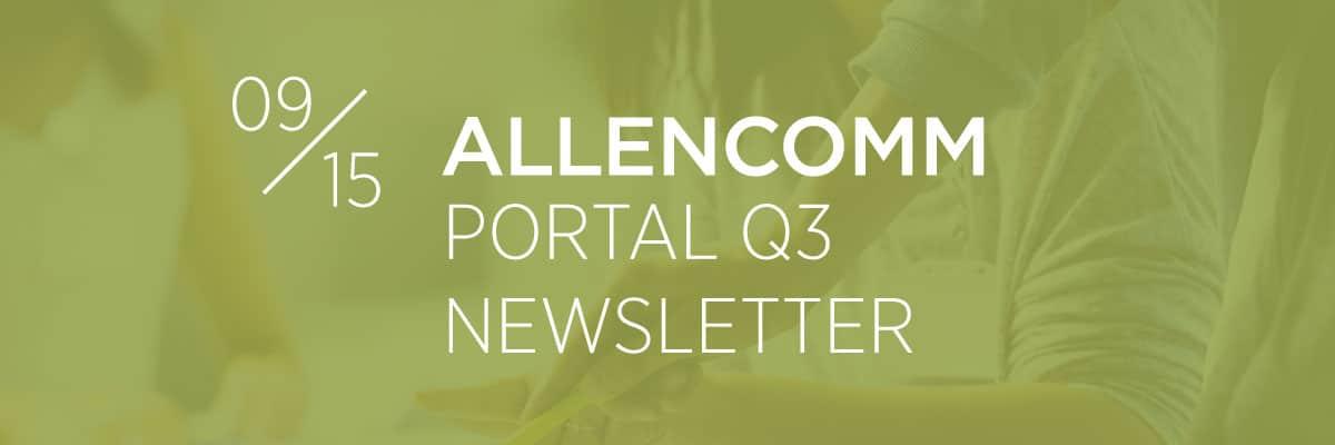Portal Q3 Newsletter