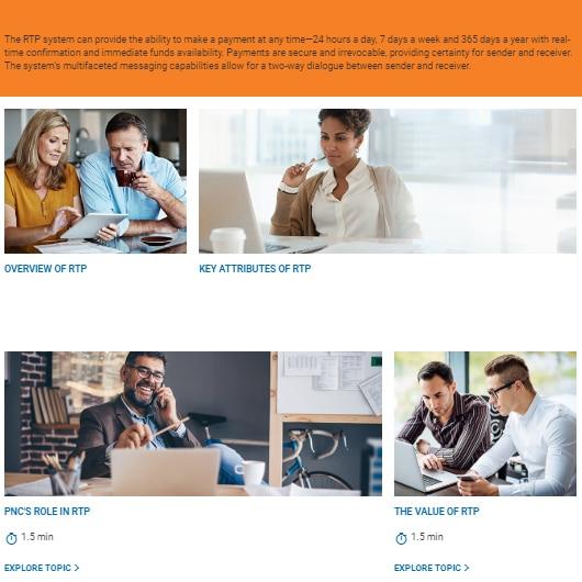 Leading Online Bank course AllenComm