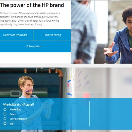 HP course AllenComm